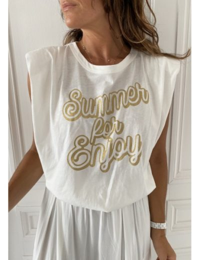 Tee shirt Johanna Summer for enjoy