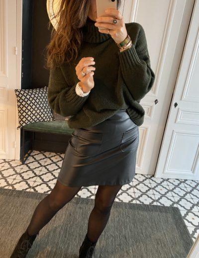 jupe-sweed-simili-cuir
