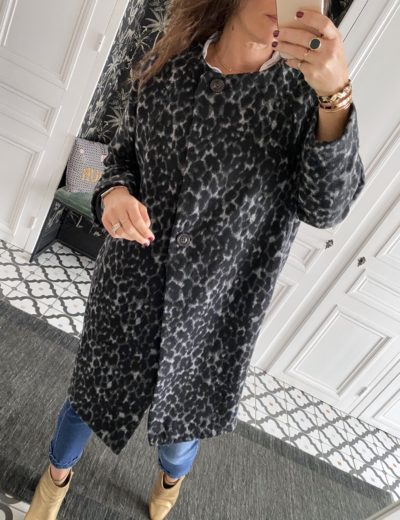 manteau-johanna-leopard-gris