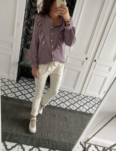 chemise-johanna-gaze-coton-vert